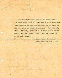 Corresepondence-regarding-to-get-passport-by-Ranaji
