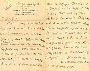 Correspondence-of-Ranaji-with-British-Committee-of-the-Indian-National-Congress-London
